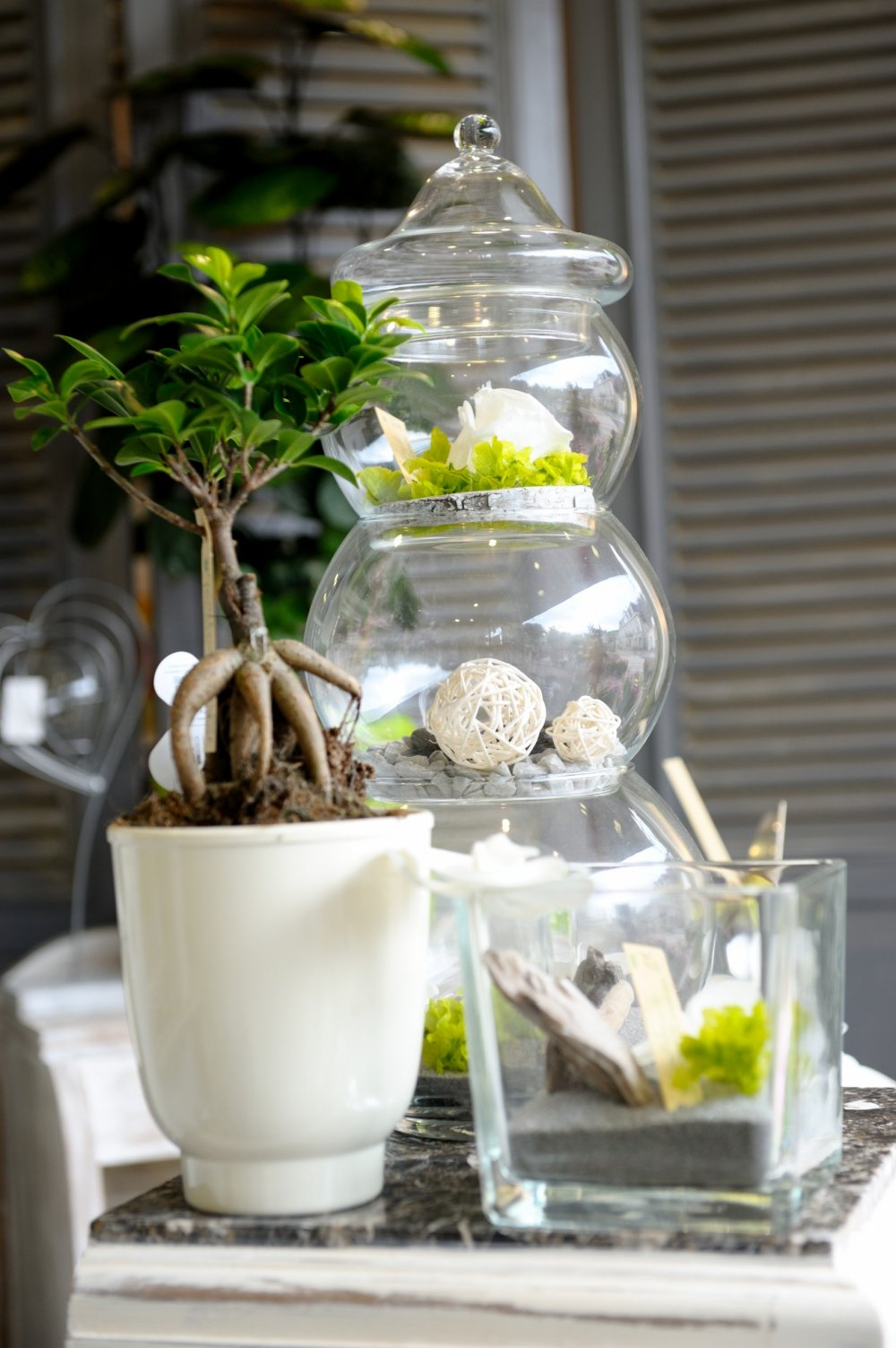 D coration int rieur gouttebroze fleurs bo n for Interieur zinc